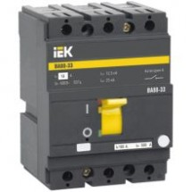 Автоматический выключатель ВА88-33 3Р 100А 35кА ИЭК SVA20-3-0100