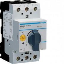 Автоматический выключатель защиты двигателя Hager MM508N 2,4-4,0 А 2,5 модуля