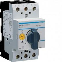 Автоматический выключатель защиты двигателя Hager MM509N 4,0-6,0 А 2,5 модуля