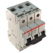 Автоматический выключатель ABB S283 C 100А  6кА 3-полюсный GHS2830001R0824