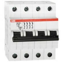 Автоматический выключатель ABB SН-204- С 25А 6кА 4-полюсный 2CDS254001R0255