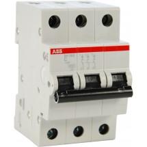 Автоматический выключатель АВВ SН203 С10А 6кА 3-полюсный 2CDS253001R0104