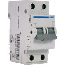 Автомат Hager In=6 А В 6kA MВ206A | Автоматический выключатель Hager In=6 А В 6kA MВ206A 2-полюсный