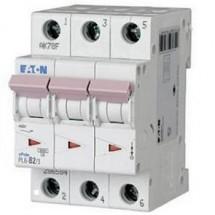 Автоматический выключатель PL-6 В-32A, 296592 Eaton (Moeller) 3-полюсный