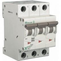Автоматический выключатель PL-7, 3-полюсный C-16A 10кА Eaton (Moeller) 263409