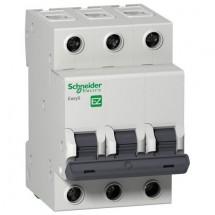 Автоматический выключатель Schneider EASY9 16А С 4,5кА EZ9F34316 3-полюсный