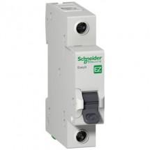 Автоматический выключатель SCHNEIDER EZ 1p. 25А С 4,5кА EZ9F34125 1-полюсный