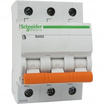 Автоматический выключатель Schneider ВА63 3п 32А С 4,5кА 11226 3-полюсный