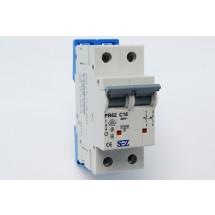 Автоматический выключатель SEZ PR 62-С 16А 10кА 2-полюсный