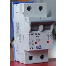 Автоматический выключатель SEZ PR 62-С 50А 10кА 2-полюсный