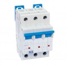Автоматический выключатель SEZ PR 63-С 20А 10кА 3 полюсный