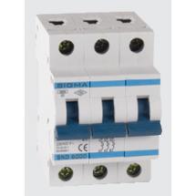 Автоматический выключатель Sigma Elektrik С,160А, 3-п, 25кА,  3С160160 3-полюсный
