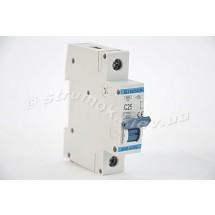 Автоматический выключатель, С ,25А, 1-п, 6кА, SIGMA 6SM125C