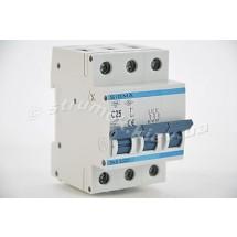 Автоматический выключатель, С ,25А, 3-п, 6кА, SIGMA 6SM325C