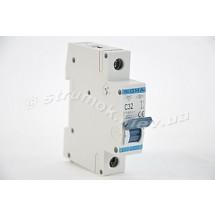 Автоматический выключатель, С ,32А, 1-п, 6кА, SIGMA 6SM132C