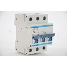 Автоматический выключатель, С ,50А, 3-п, 6кА, SIGMA 6SM350C