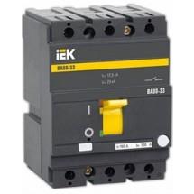 Автоматический выключатель ВА88-33 3Р 160А 35кА SVA20-3-0160 ИЭК