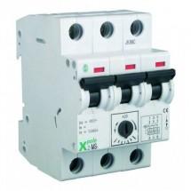 Автоматический выключатель защиты двигателя MS-103, 3-полюсный 10A, Eaton (Moeller) 248411