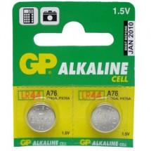 Батарейка GP дисковая Alkaline button cell 1.5V A76F-U10