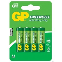 Батарейка GP GREENCELL 1.5V 24G-U4 R03 AAA