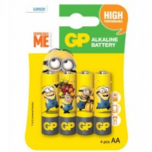 Батарейка GP ULTRA ALKALINE 1.5V 15AUYOY-2UE4 лужна LR6 AA