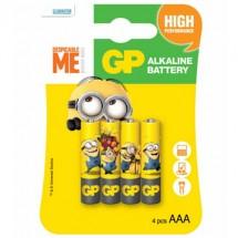 Батарейка GP ULTRA ALKALINE 1.5V 24AUYOY-2UE4 лужна LR03 AAA