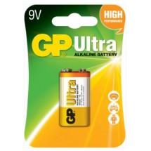 Батарейка крона GP ULTRA  ALKALINE 9V 1604AU-U1 6LF22