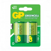Батарейка GP GREENCELL 1.5V 13G-U2 R20 D