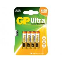 Батарейка GP ULTRA + ALKALINE 24UP-U4 LR03 AAA