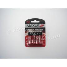 Батарейка MAXUS AA/LR6 1,5V AA-C4