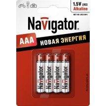 Батарейка Navigator 94 751 NBT-NE-LR03-BP4 AAA