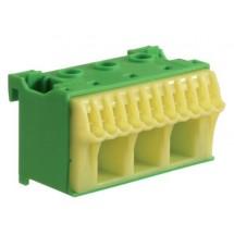 Блок PE-клемм 3х16мм2+11х4мм2 ширина 60мм KN14E Hager