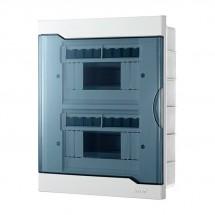 Бокс пластиковый 16 модуля внутренний LEZARD 730-1000-016