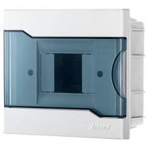 Бокс пластиковый 4 модуля внутренний LEZARD 730-1000-004