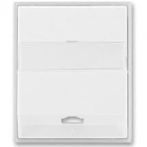 Центральная панель телефон/компьютер Element ABB 5013E-A00213 23 шторм/серый лед