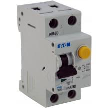 Дифавтомат С 10А 30мА (0,03А) PFL6-10 / 1Р+N Eaton (Moeller) 286465