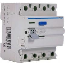 Дифференциальное реле ПЗВ 4х80А 300мА (0.3A) тип А 4 модуля CF480D Hager
