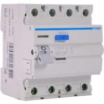Дифференциальное реле ПЗВ 4x40А 300мА (0,3А) тип АC 4 модуля CF441J Hager