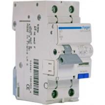 Дифференциальный автомат 1+N 25A 30мА (0,03А) C 6кA тип АС 2м AD975J Hager