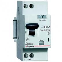 Дифференциальный автомат 25A 1+N 30mA (0.03A) 6kA тип AC 419401 Legrand RX3 2-полюсный