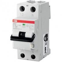 Дифференциальный автомат ABB C 20А 30мА (0,03А) DS201 2-полюсный