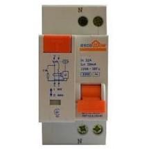 Дифавтомат EcoHome 25А С 30mA Аско 2-полюсный