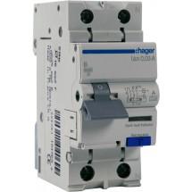 Дифавтомат 1+N 32A 30мA (0.03A) B 6кA тип А 2м AС923J Hager
