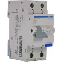 Дифавтомат 1+N 40A 30мА (0,03А) C 4,5кA тип АС 2м AD890J Hager