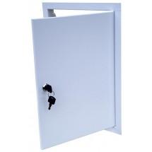 Дверца ревизионная металлическая 500х300 с замком