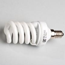 Энергосберегающая лампа КЛЛ 15Вт E14 spiral природная Volta Искра