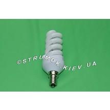 Лампа энергосберегающая DELUX Mini Full-spiral 11Wатт 6400K E14.