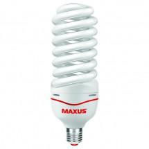 Энергосберегающая лампа КЛЛ Maxus Hight-wattagt Full Spiral 55W.6500K. E-27 ESL-078-01