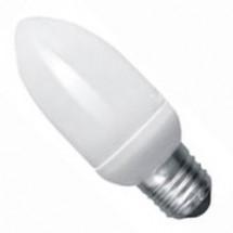 Энергосберегающая лампа КЛЛ Мини свеча E-27 11W,4100K, CММ27D11A Odeon