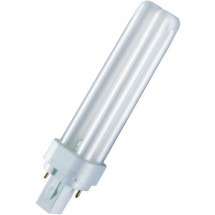 Лампа энергосберегающая компактная OSRAM DULUX D 13W/840 G24d-1